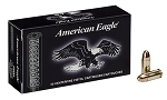 American Eagle Ammunition Subsonic 9mm Luger 124 Grain Full Metal Jacket Box of 50
