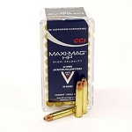 5 PACK - CCI 22 WMR Maximag Hollow Point Box of 50 (250 Rounds Total) - FREE SHIPPING