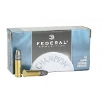 Federal Champion Target Ammunition 22 Long Rifle High Velocity 40 Grain Lead Round Nose Box of 50