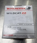 Winchester Wildcat Ammunition 22 Long Rifle 40 Grain Plated Lead Round Nose 500 Brick