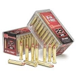 5 PACK - Hornady V-max Ammunition 22 Winchester Magnum Rimfire (WMR) 30 Grain V-Max Tip  250 Rounds Total - FREE SHIPPING