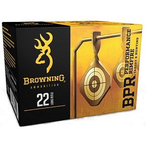 Browning 22 Long Rifle 40 Grain Plated Lead Solid Point, 400 Brick