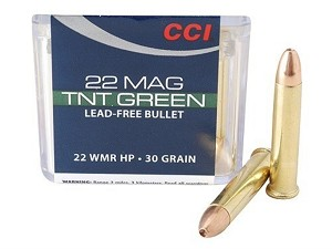 CCI 22 WMR Maximag 30 Grain Speer TNT Green Hollow Point Box of 50